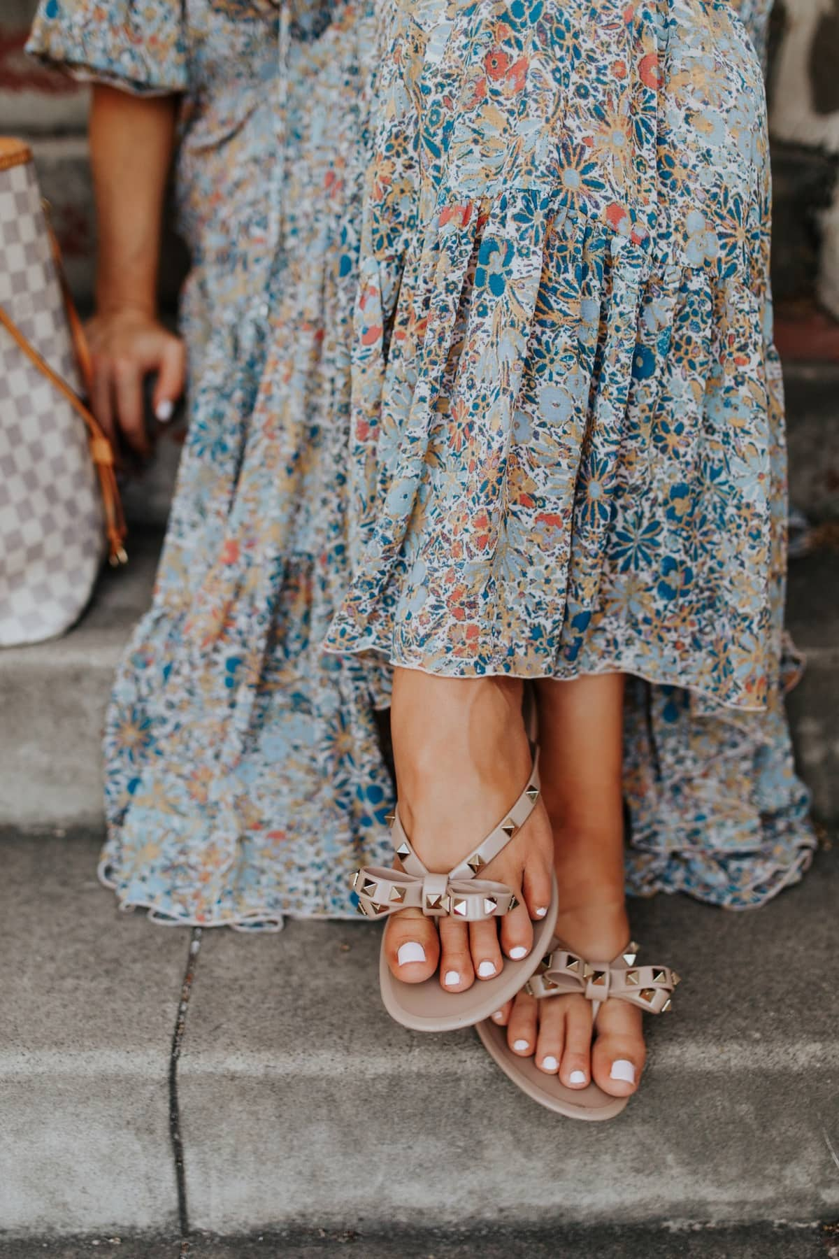 valentino studded sandals