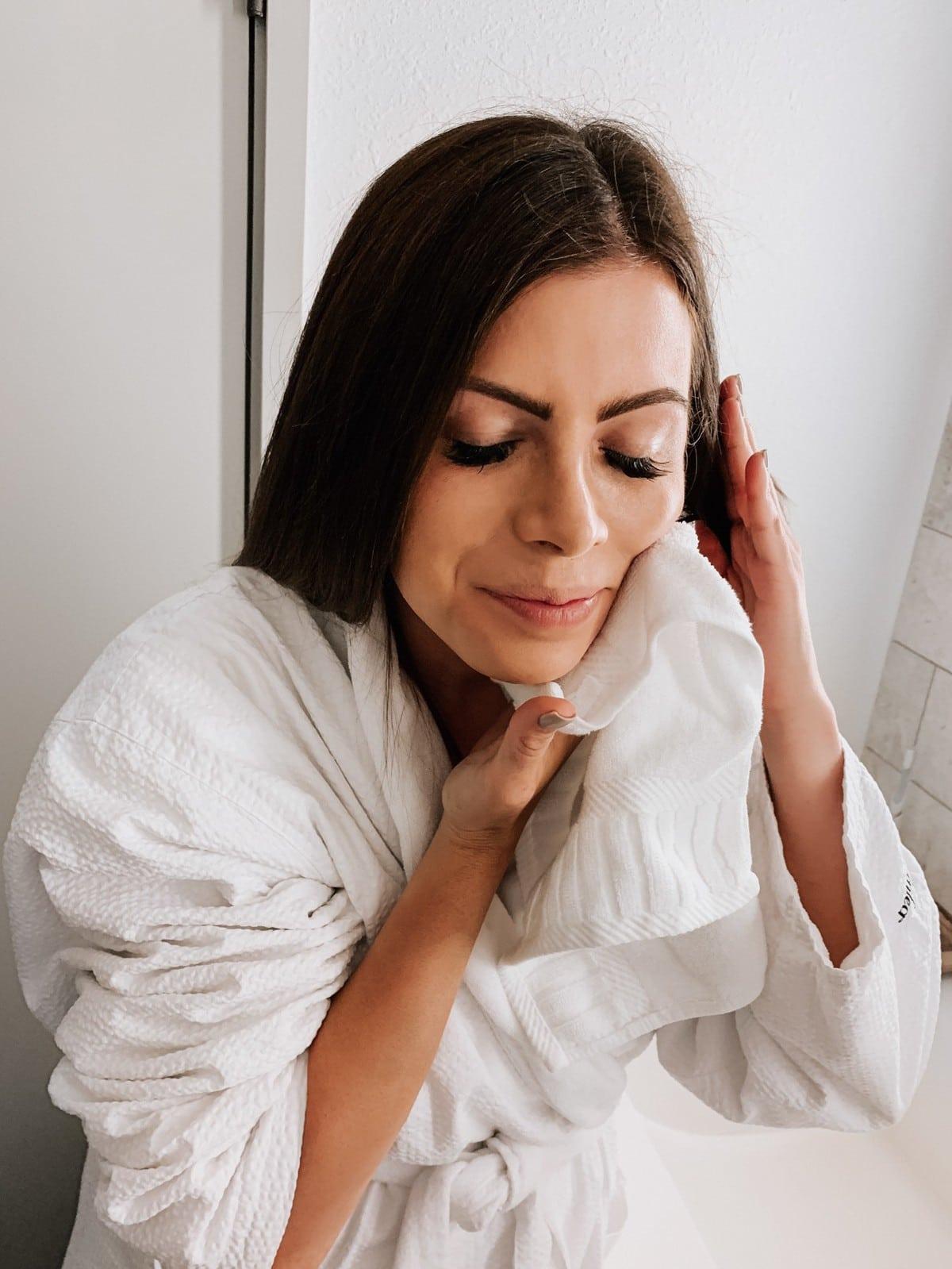 makeup removing washcloth