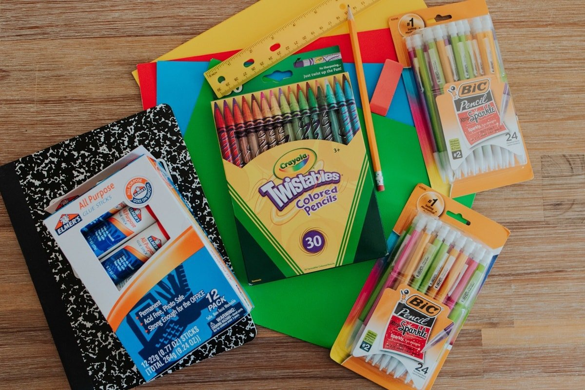 school supplies for kids