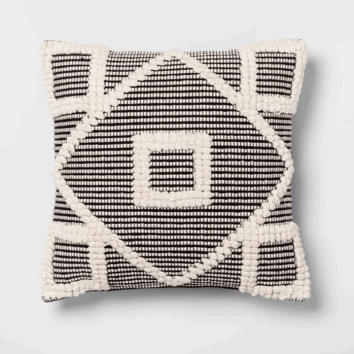 textured throw pillow target