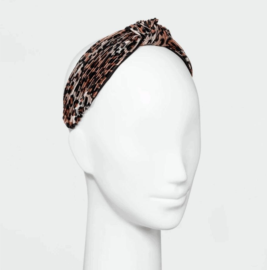 leopard print headband target