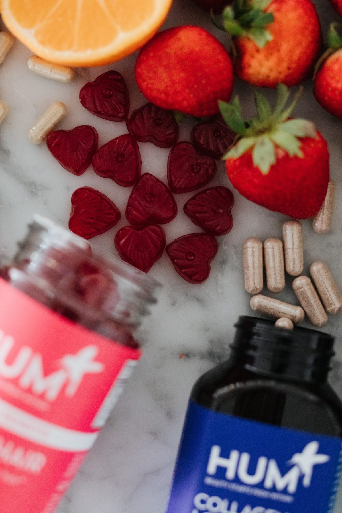HUM nutrition hair supplements