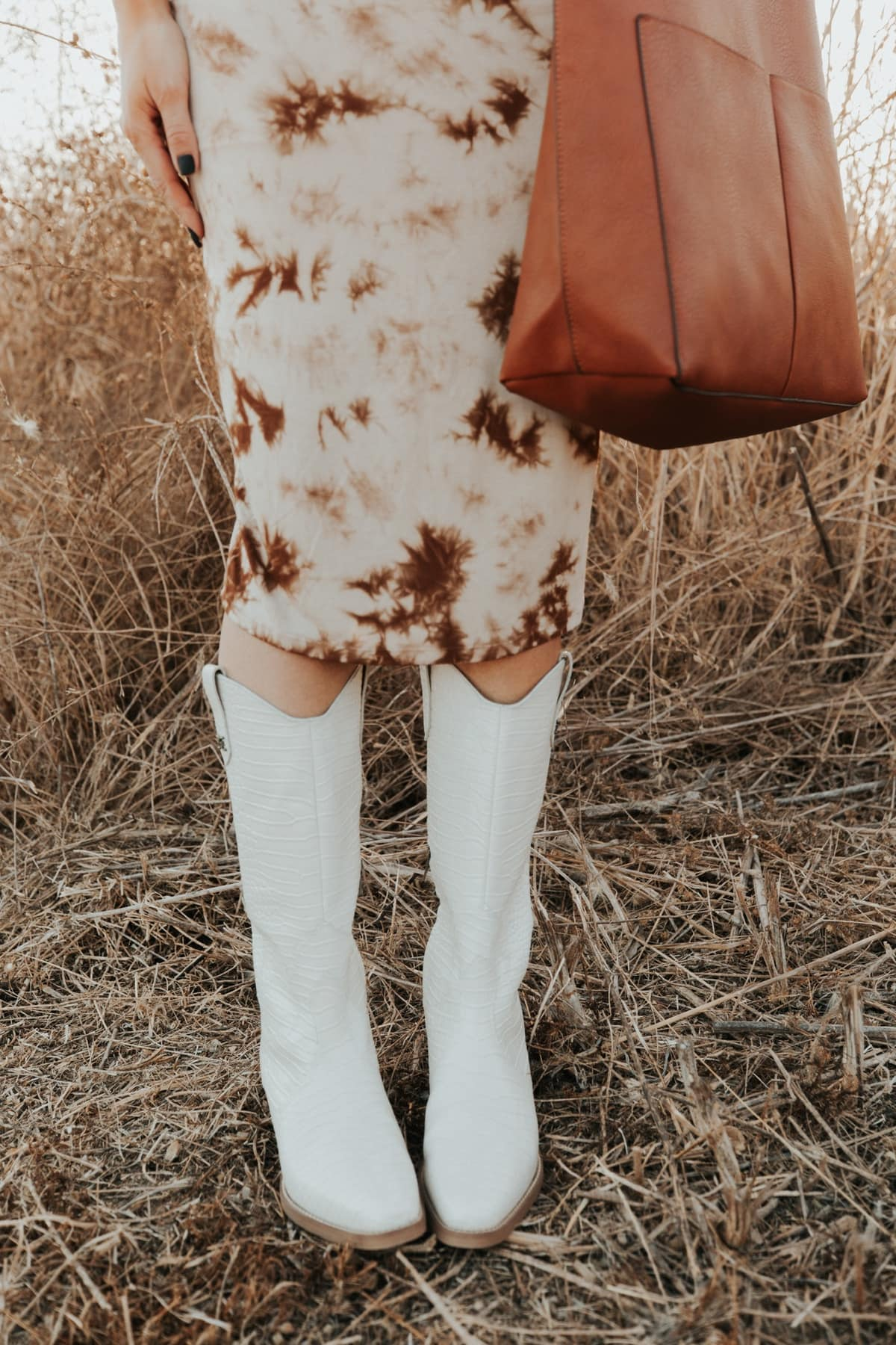 cowboy boots fall outfit
