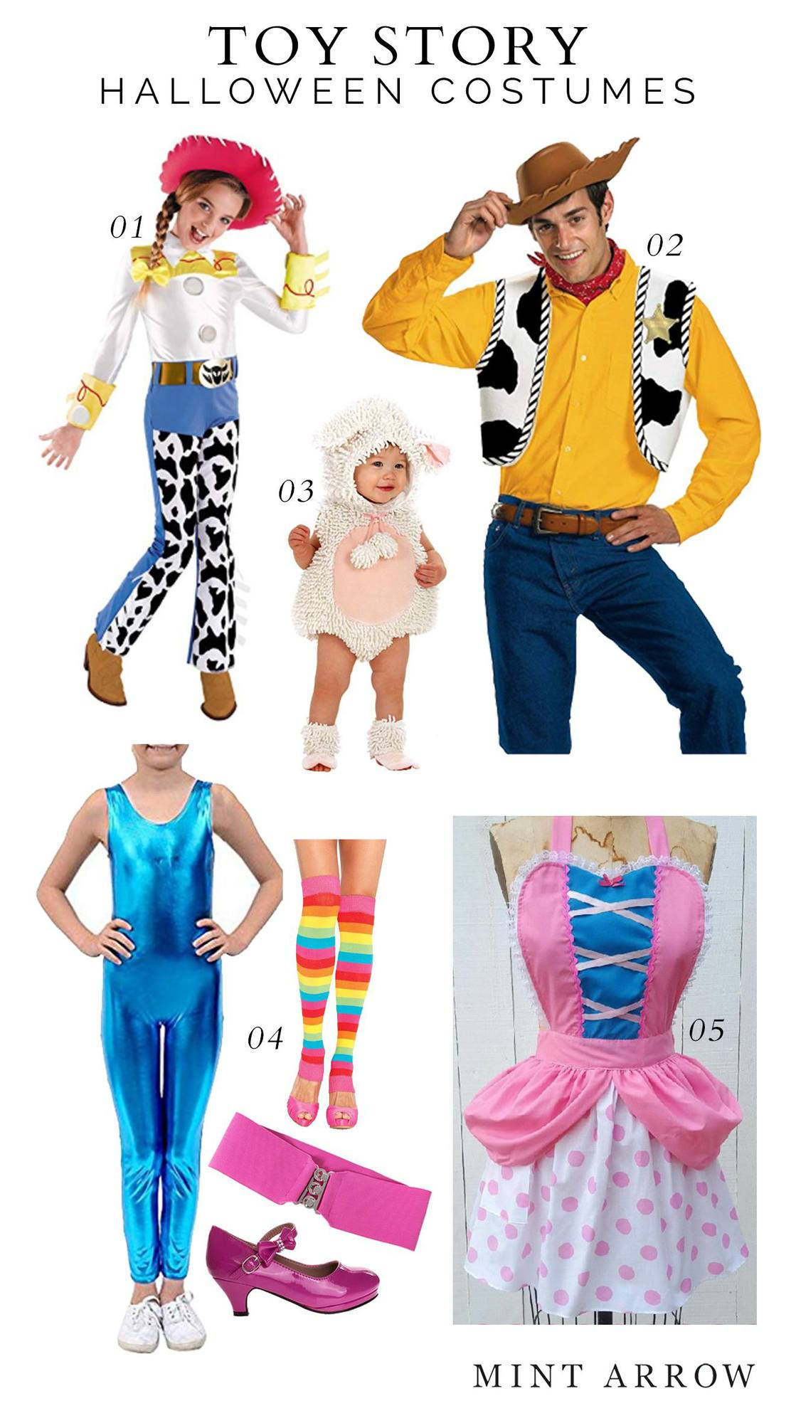 tory story family costume
