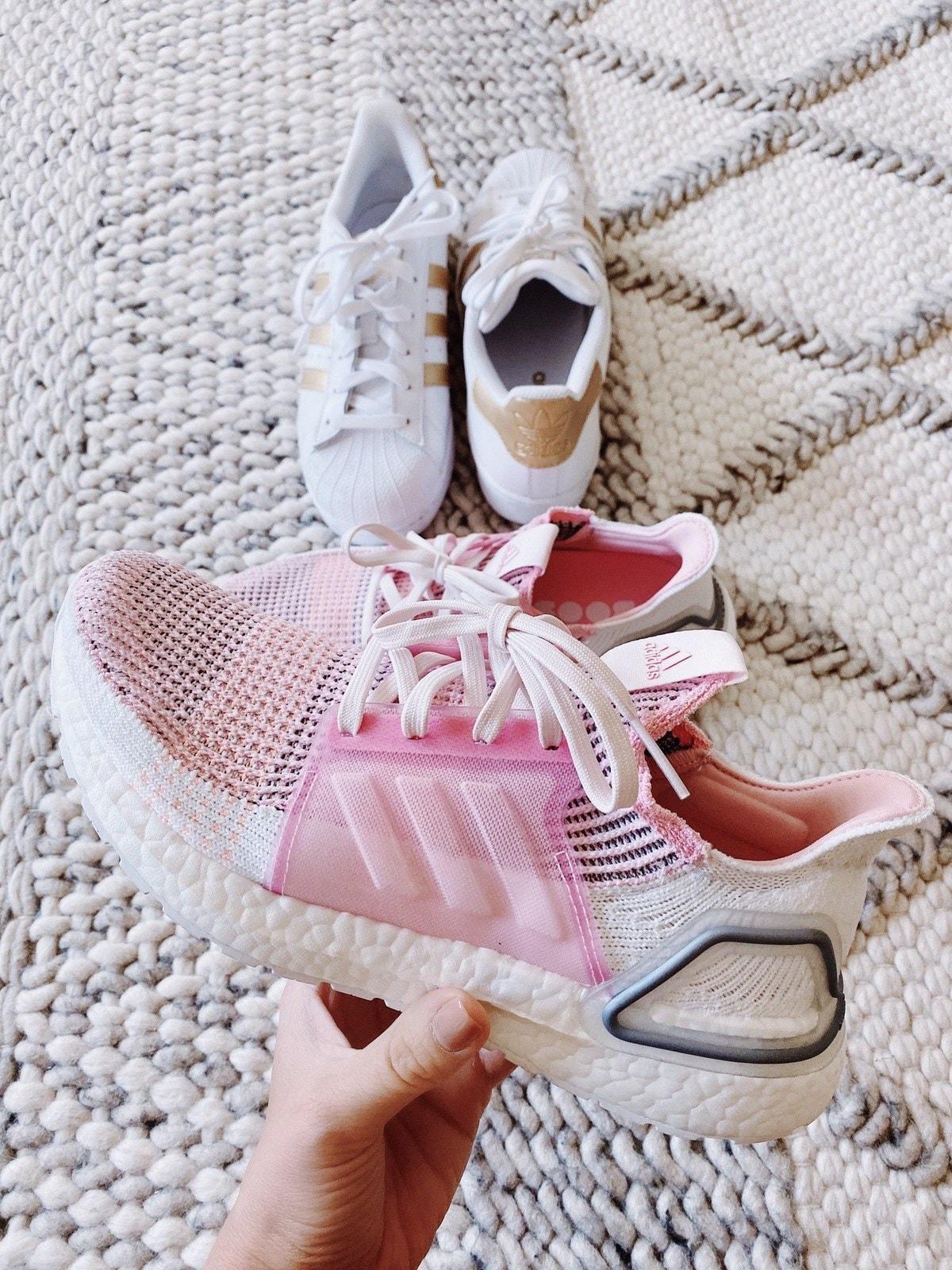 pink adidas ultraboosts
