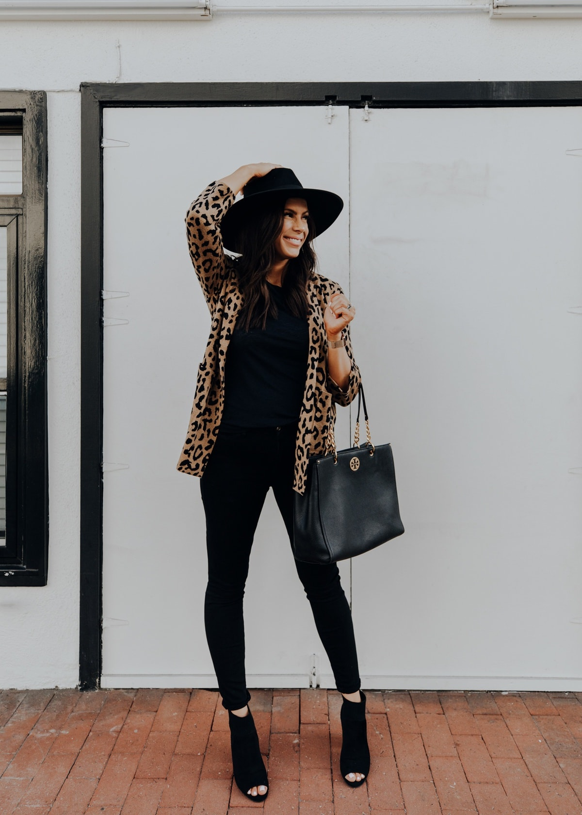 leopard print fall outfit
