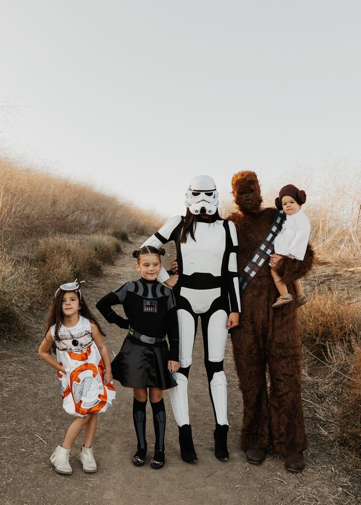 family star wars costume ideas halloween