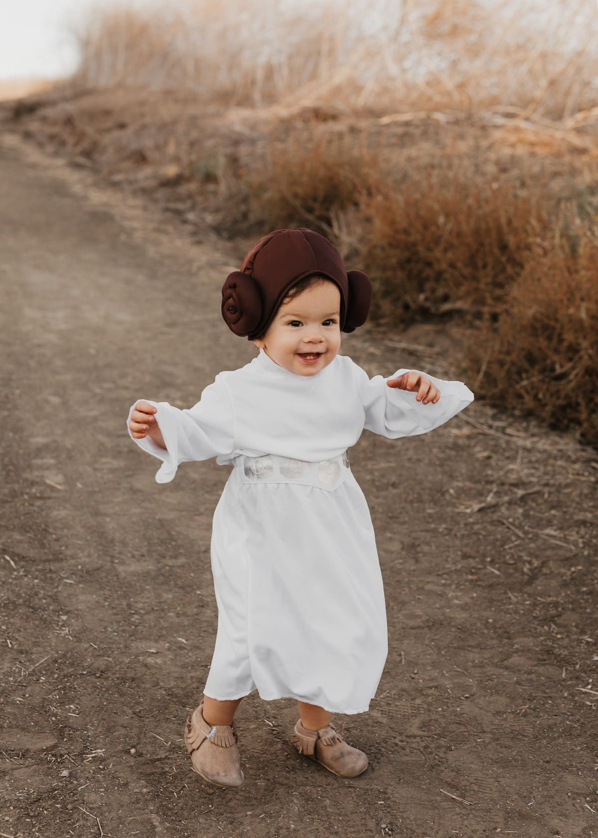 baby costume princess leia