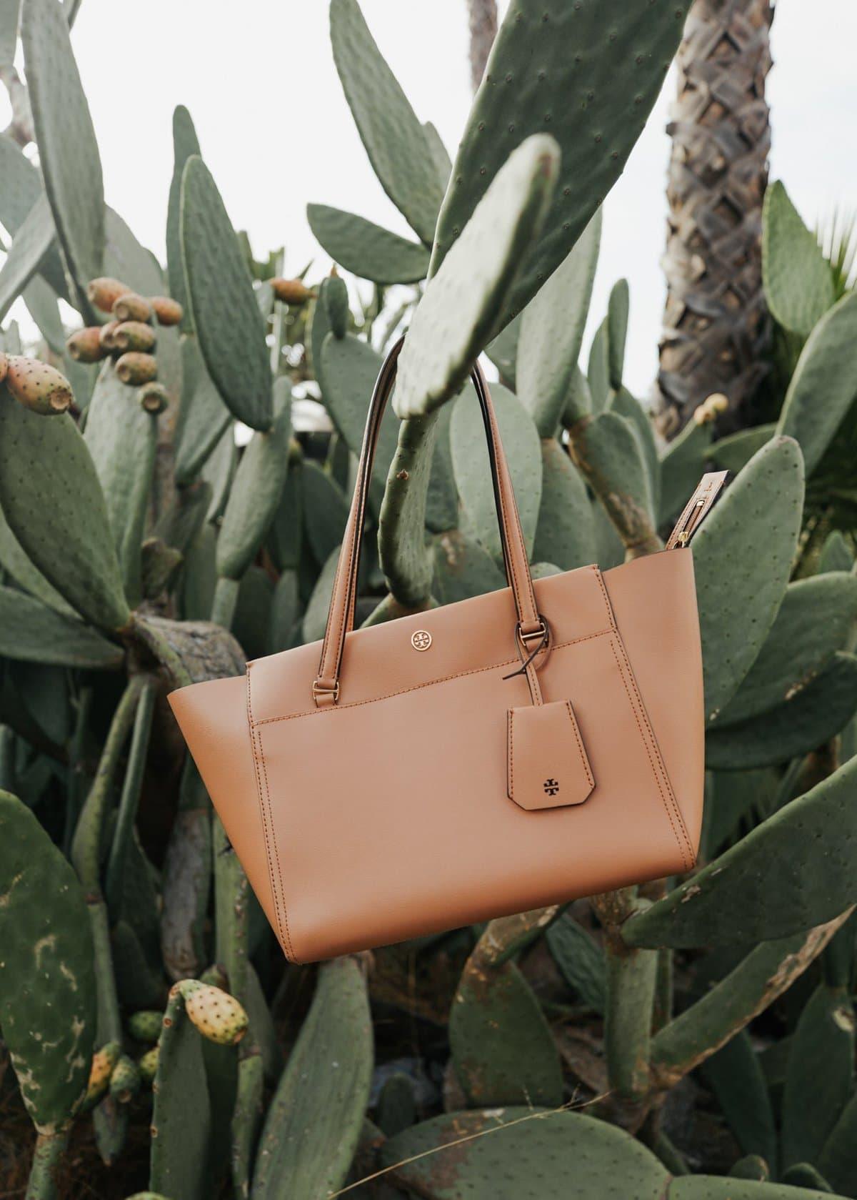 tan tory burch bag for women