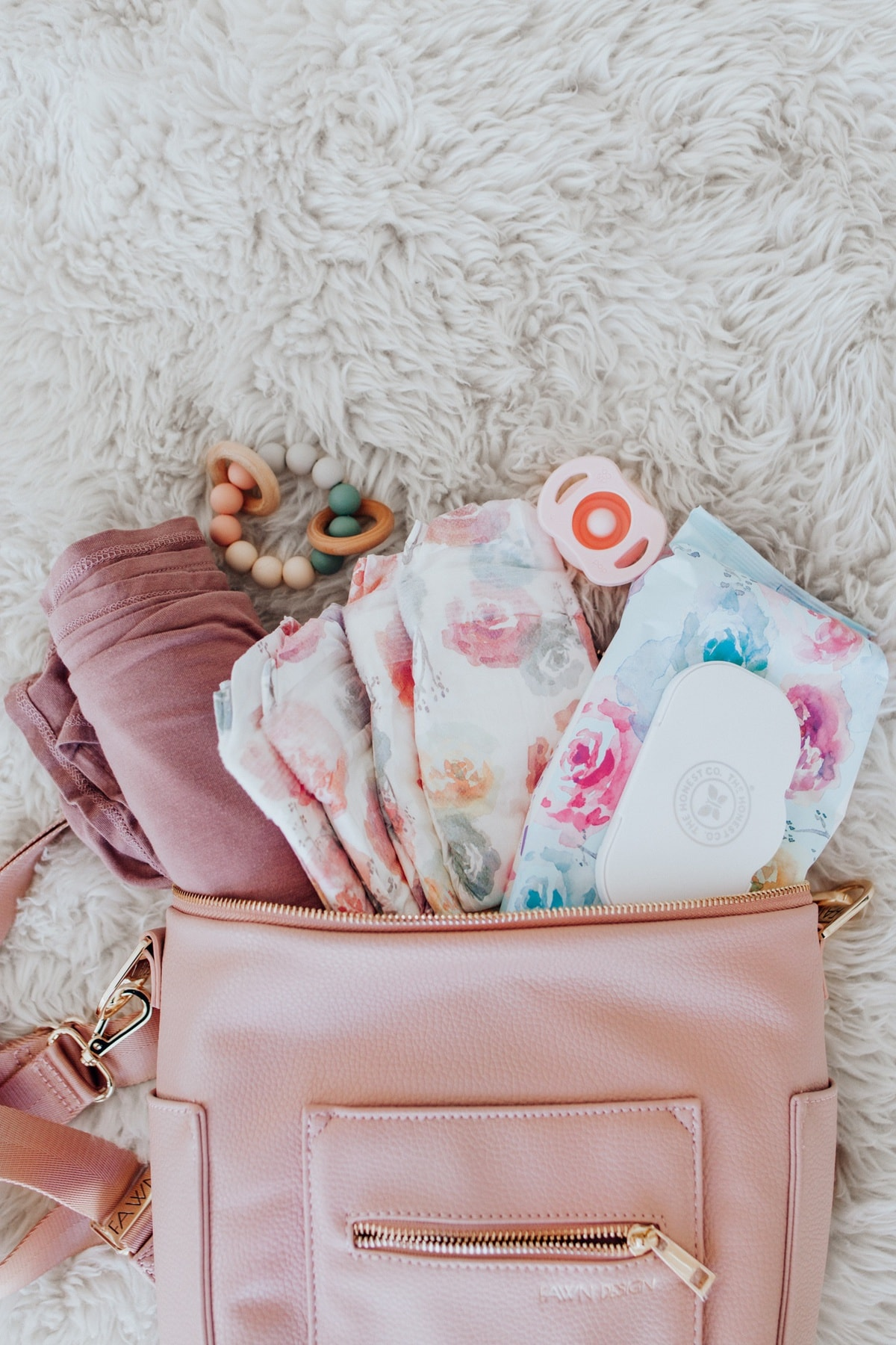 fawn design diaper bag deal