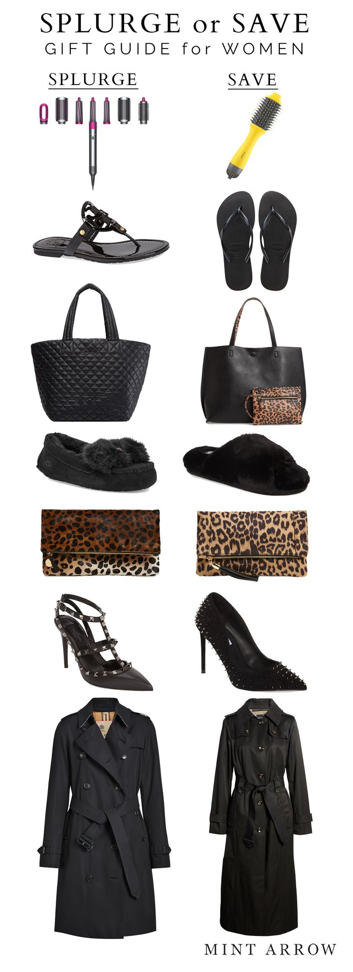 gifts for her splurge or save