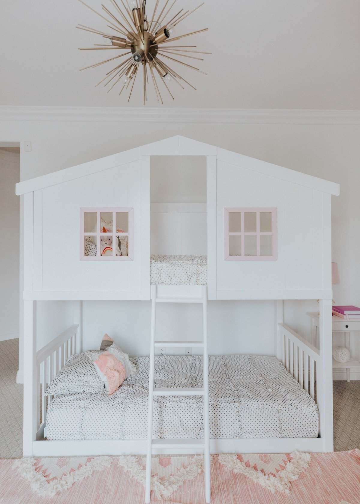 house bunk beds for girls