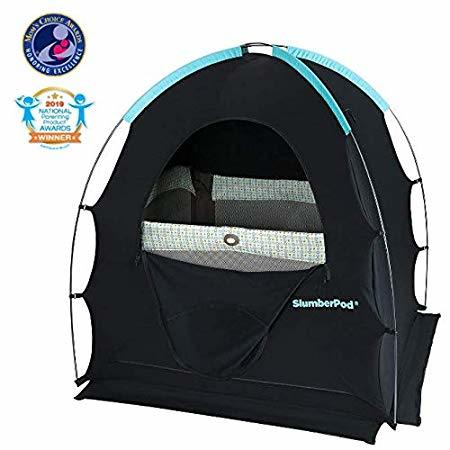 blackout baby tent