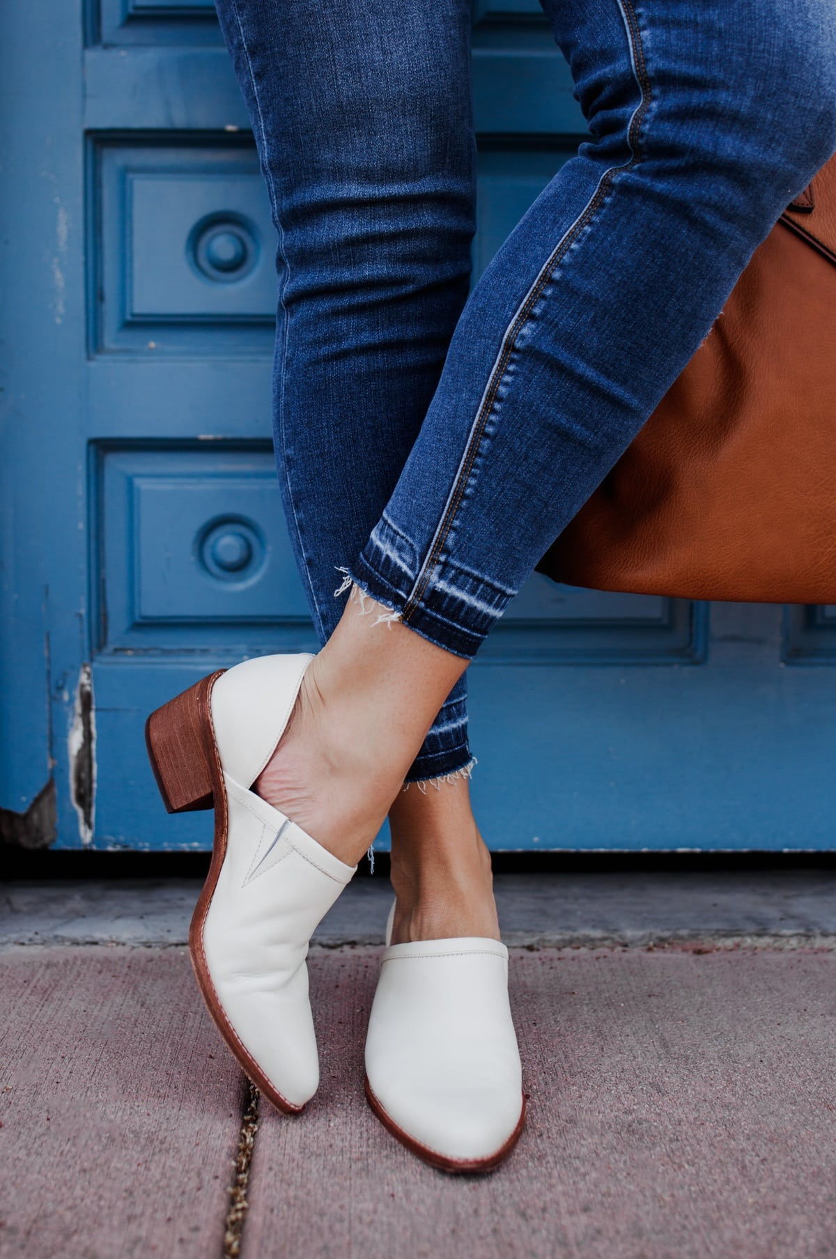 madewell white bootie