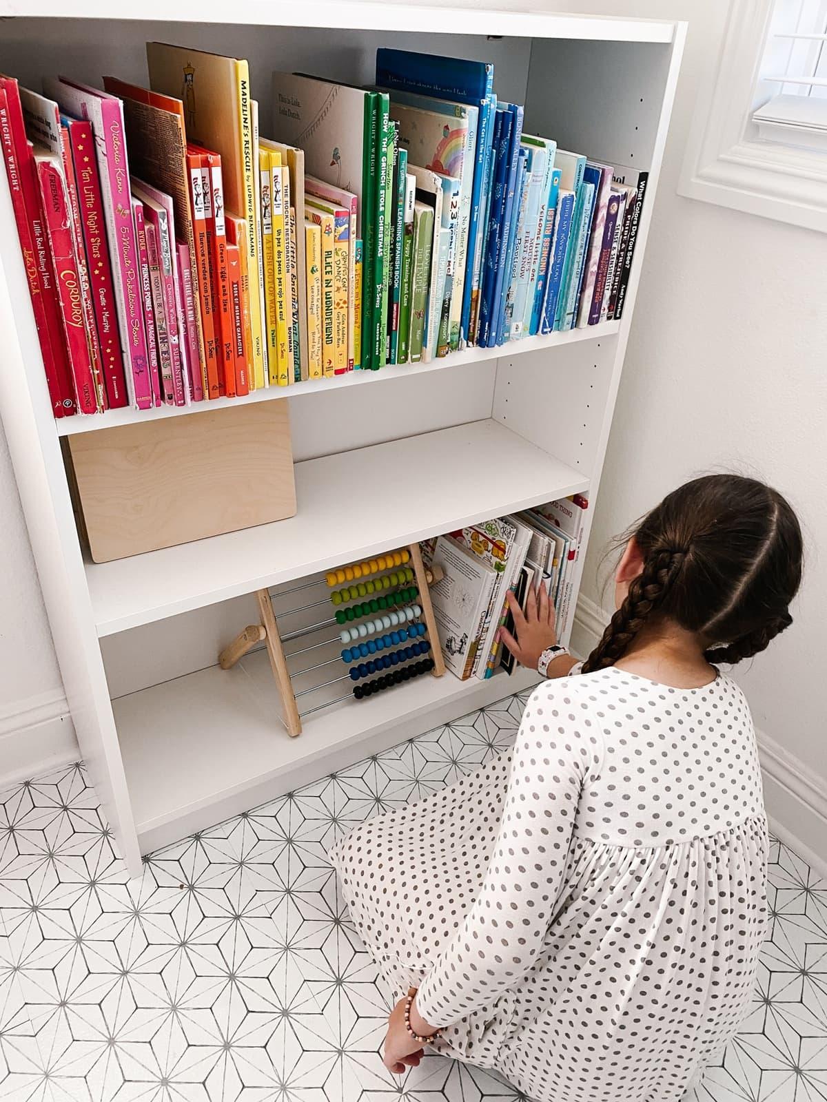 kids homeschool activity space