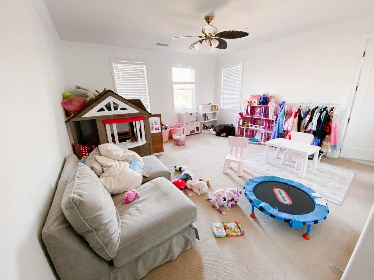 kids playroom renovation