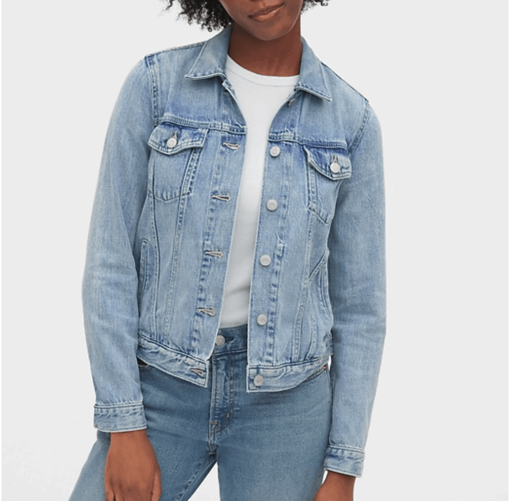 womens denim jacket deal