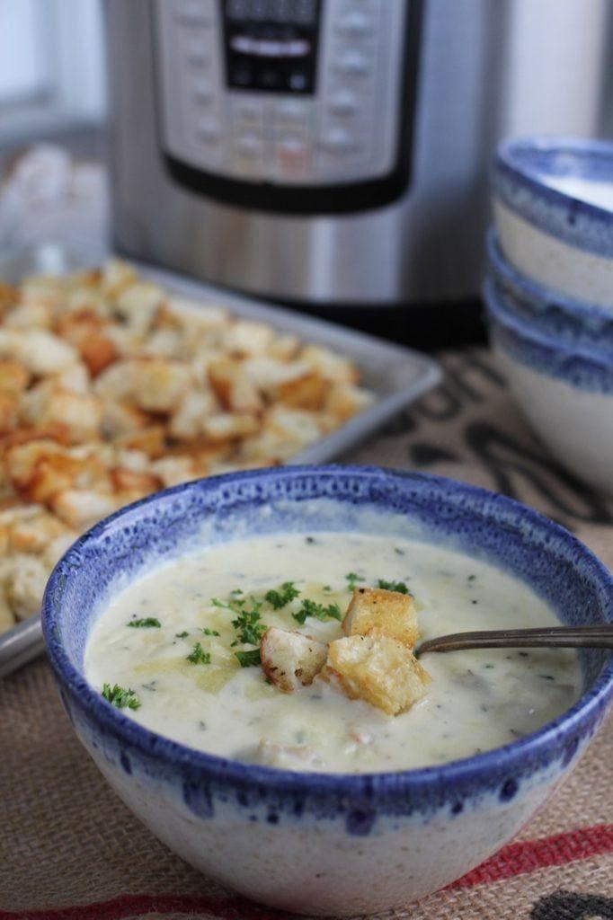 white cheddar potato soup recipe a bountiful kitchen