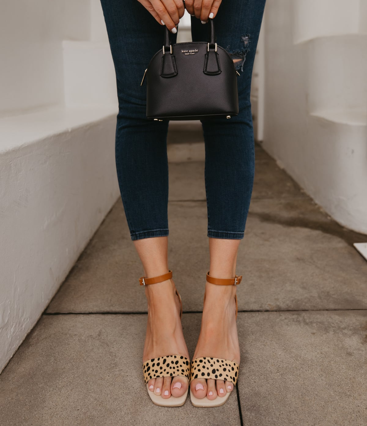 dolce vita leopard wedges for summer outfit