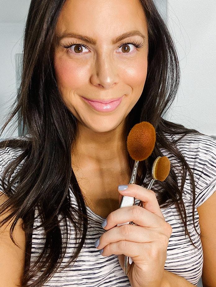 artis makeup brushes makeup bag