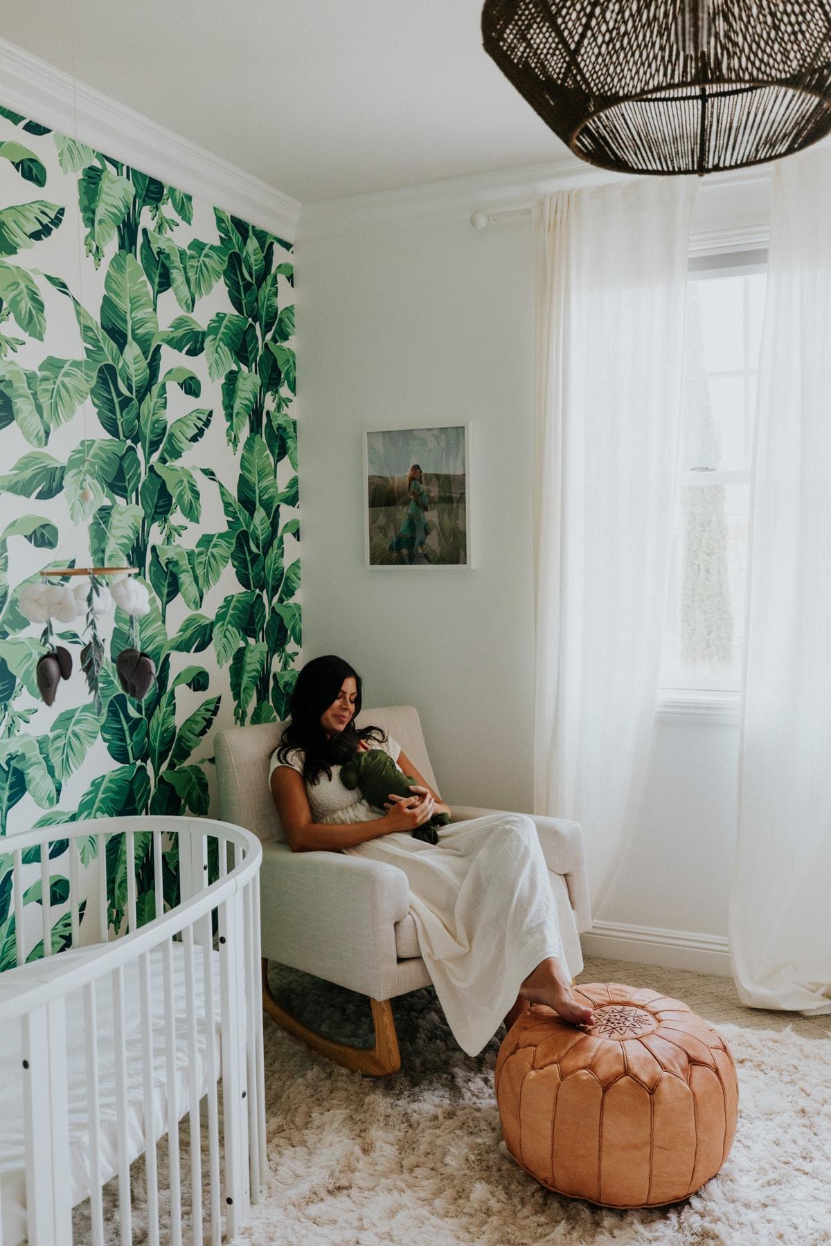 Baby Room Ideas: A Girl Nursery And A Boy Nursery - Mint Arrow