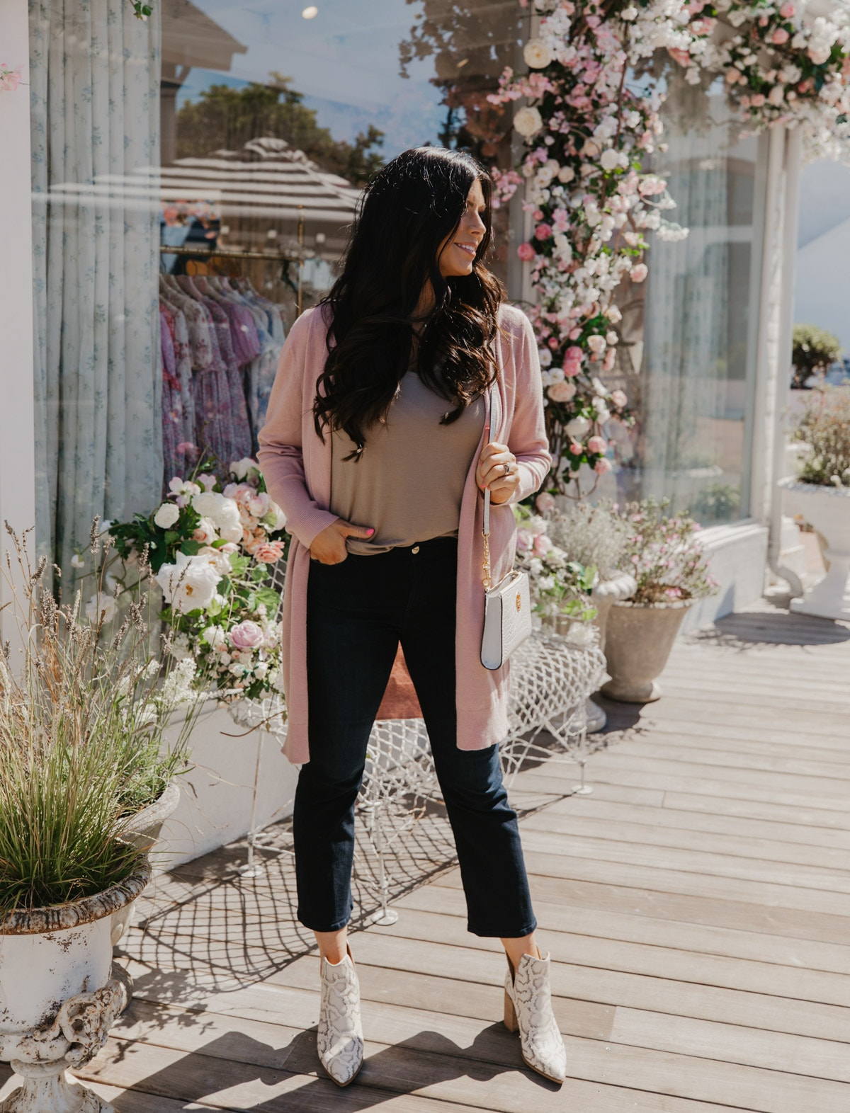 cropped jeans FRAME