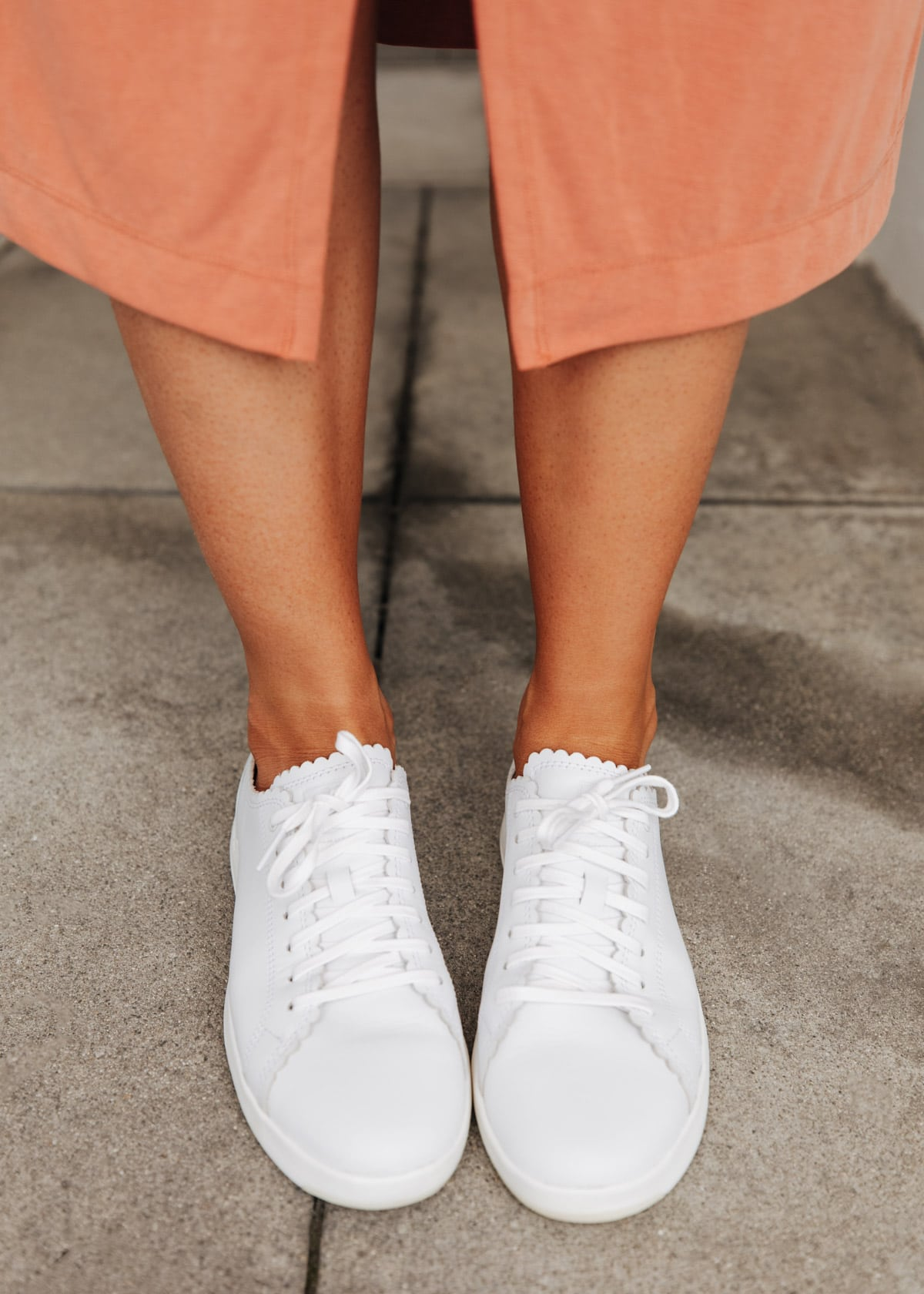cole haan sneakers in white