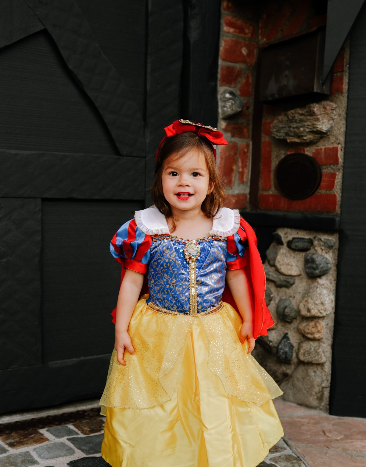 snow white toddler dress up