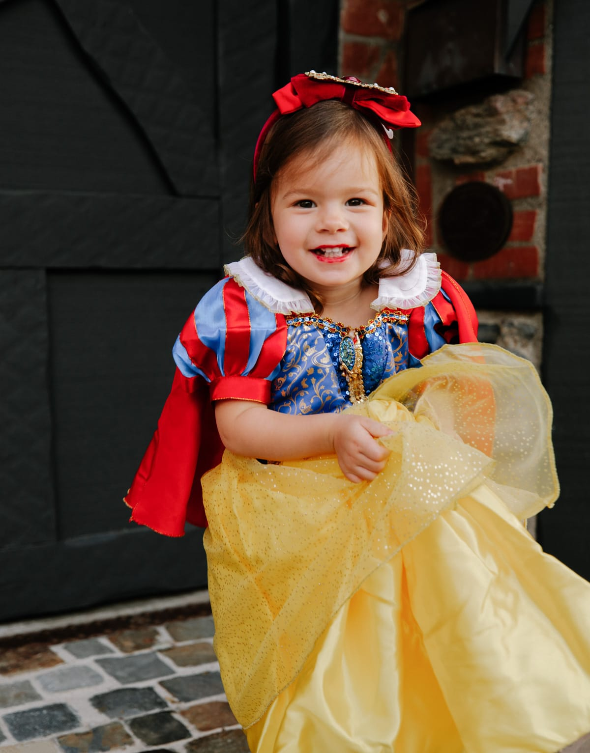 toddler snow white halloween costume