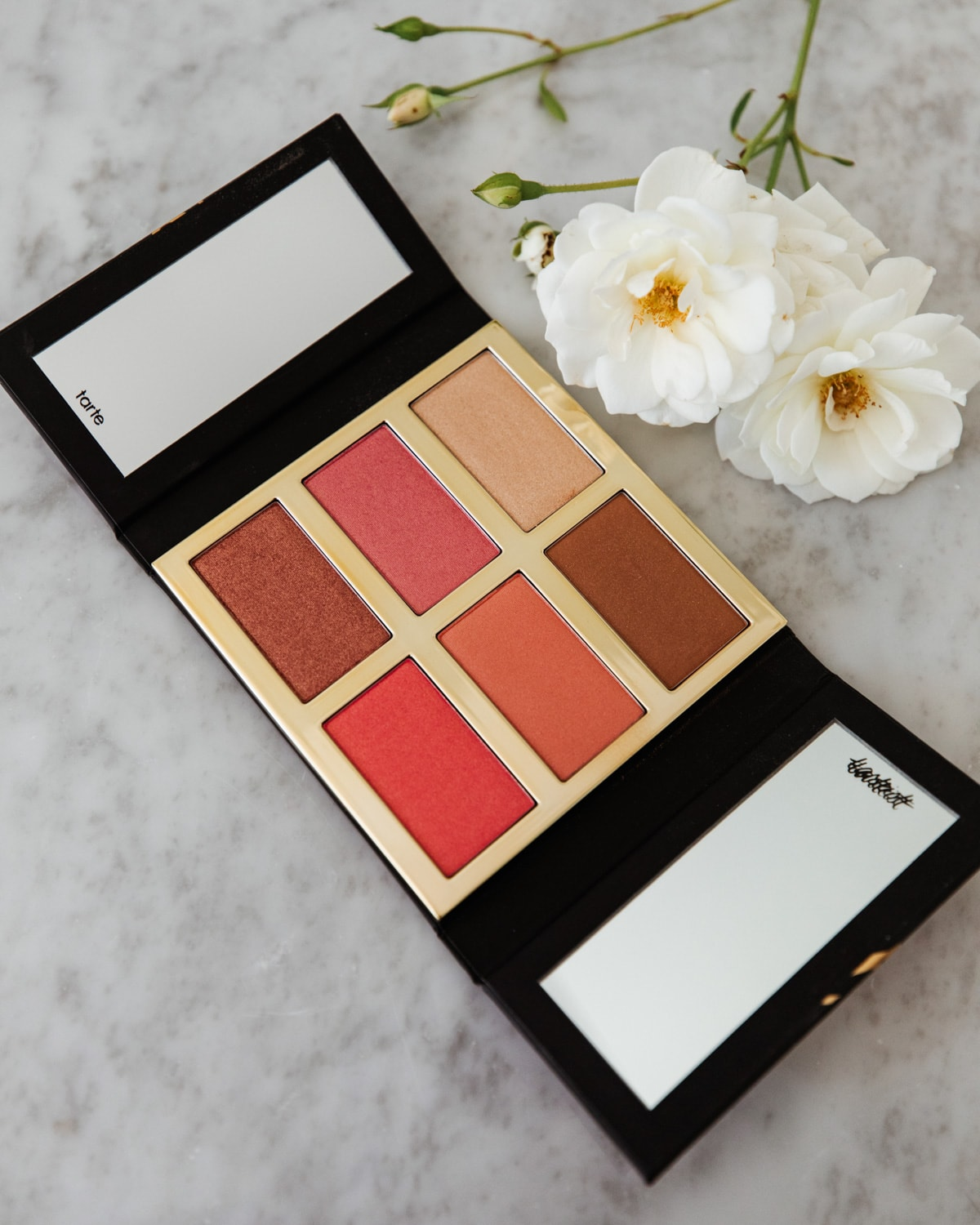 glow and blush palette