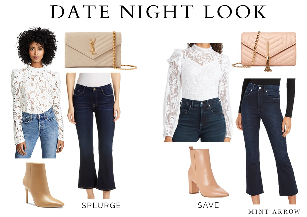 date night looks for less