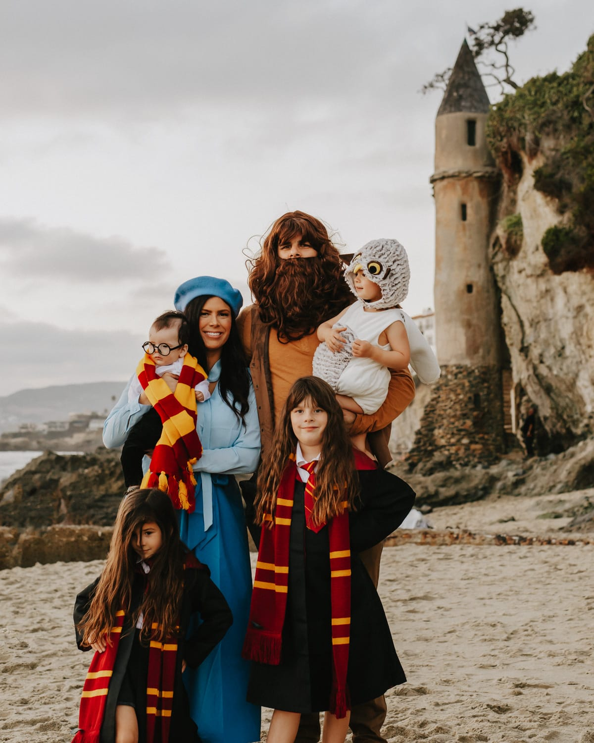 family themed halloween costumes harry potter