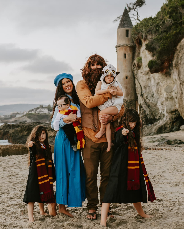 harry potter family halloween costumes