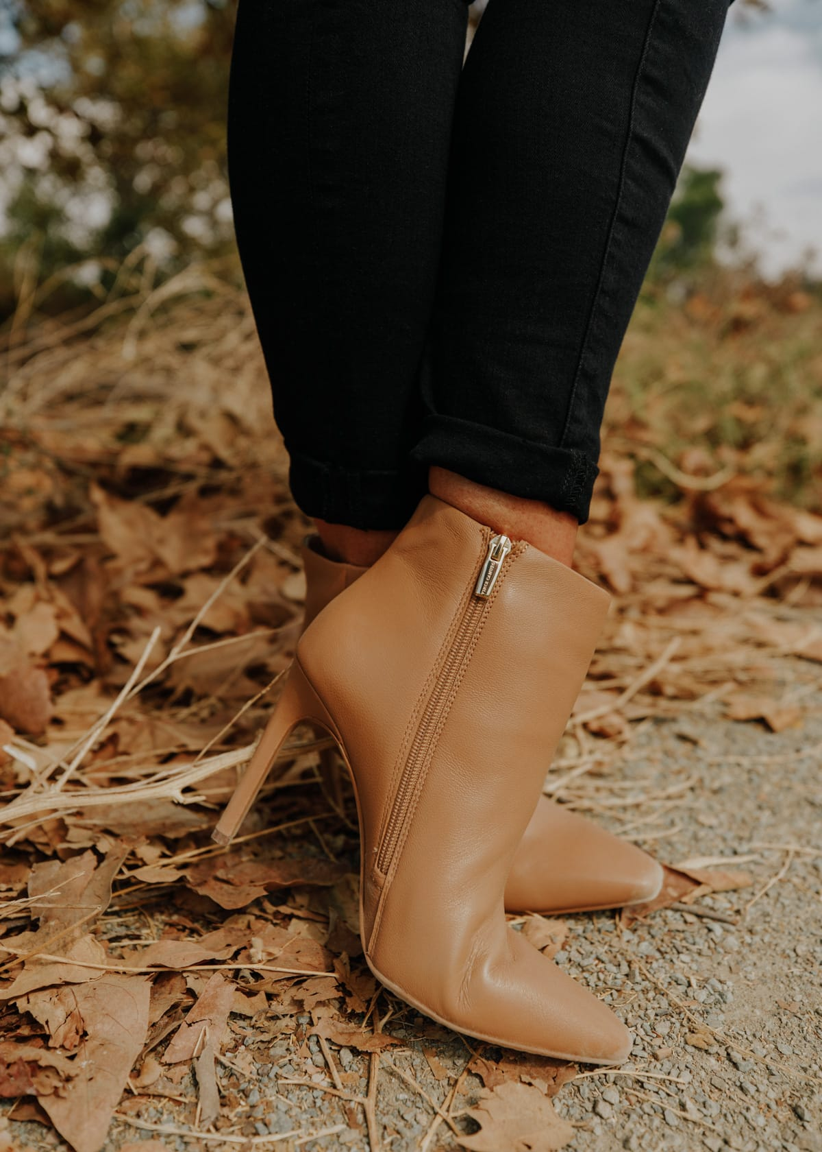 tan booties nordstrom vince camuto