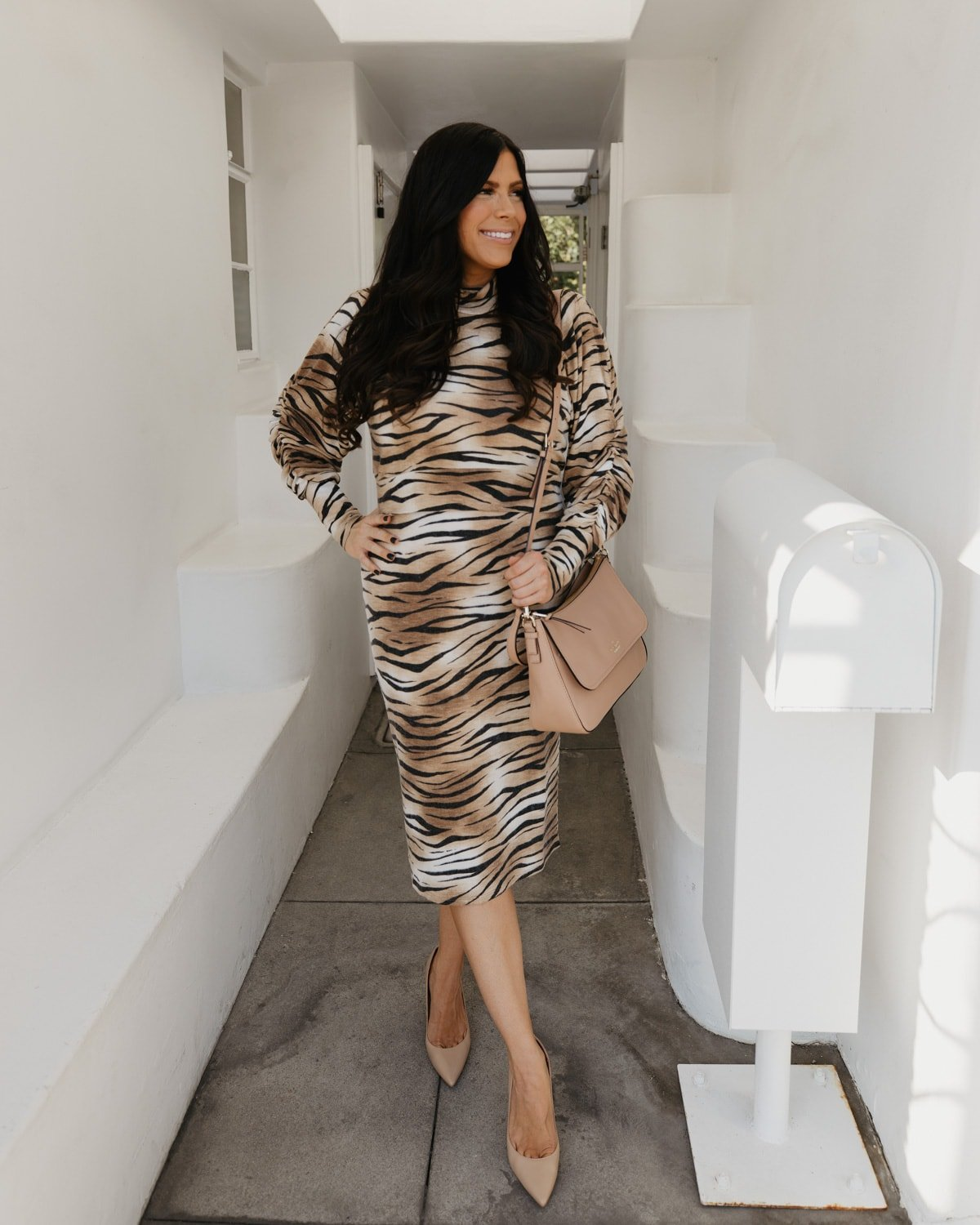 tiger striped outfit from nordstrom