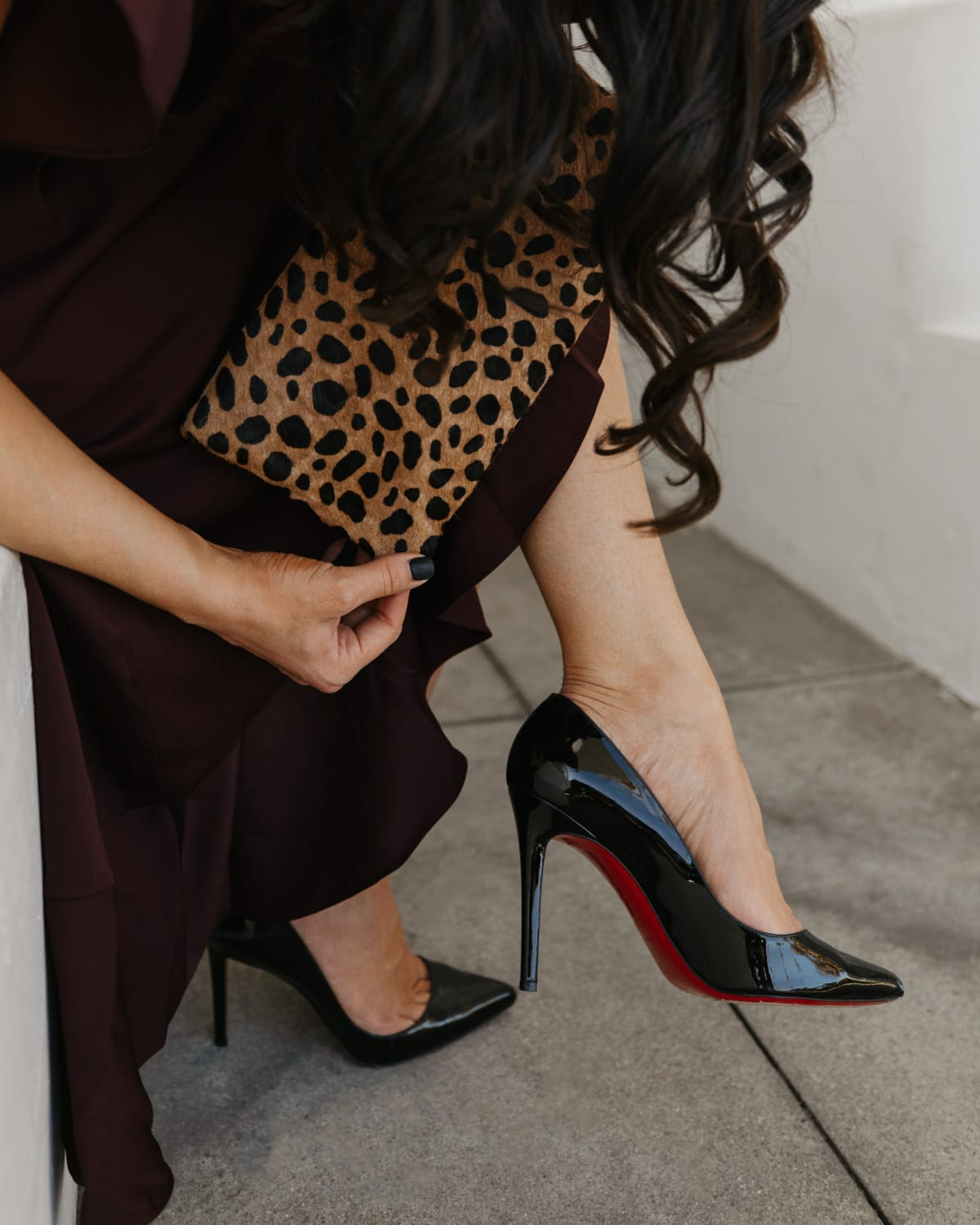 Pigalle Follies Pointed Toe Pump CHRISTIAN LOUBOUTIN