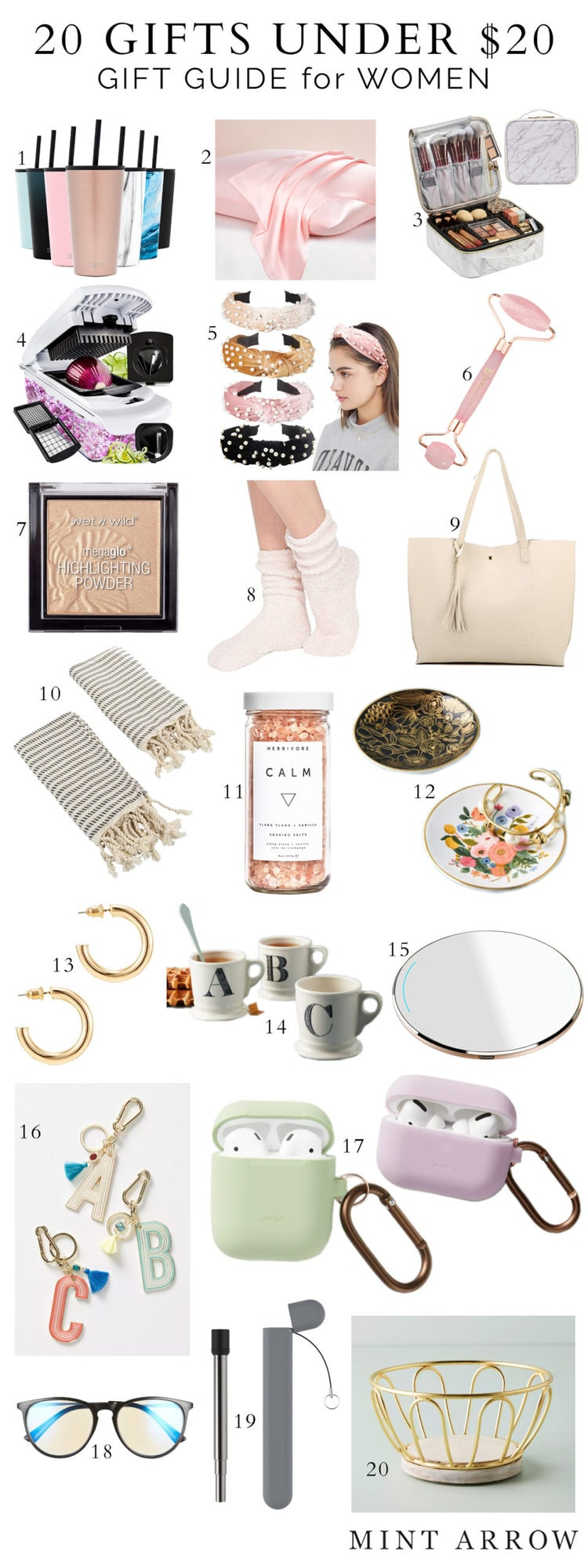 womens gifts under $20 for christmas