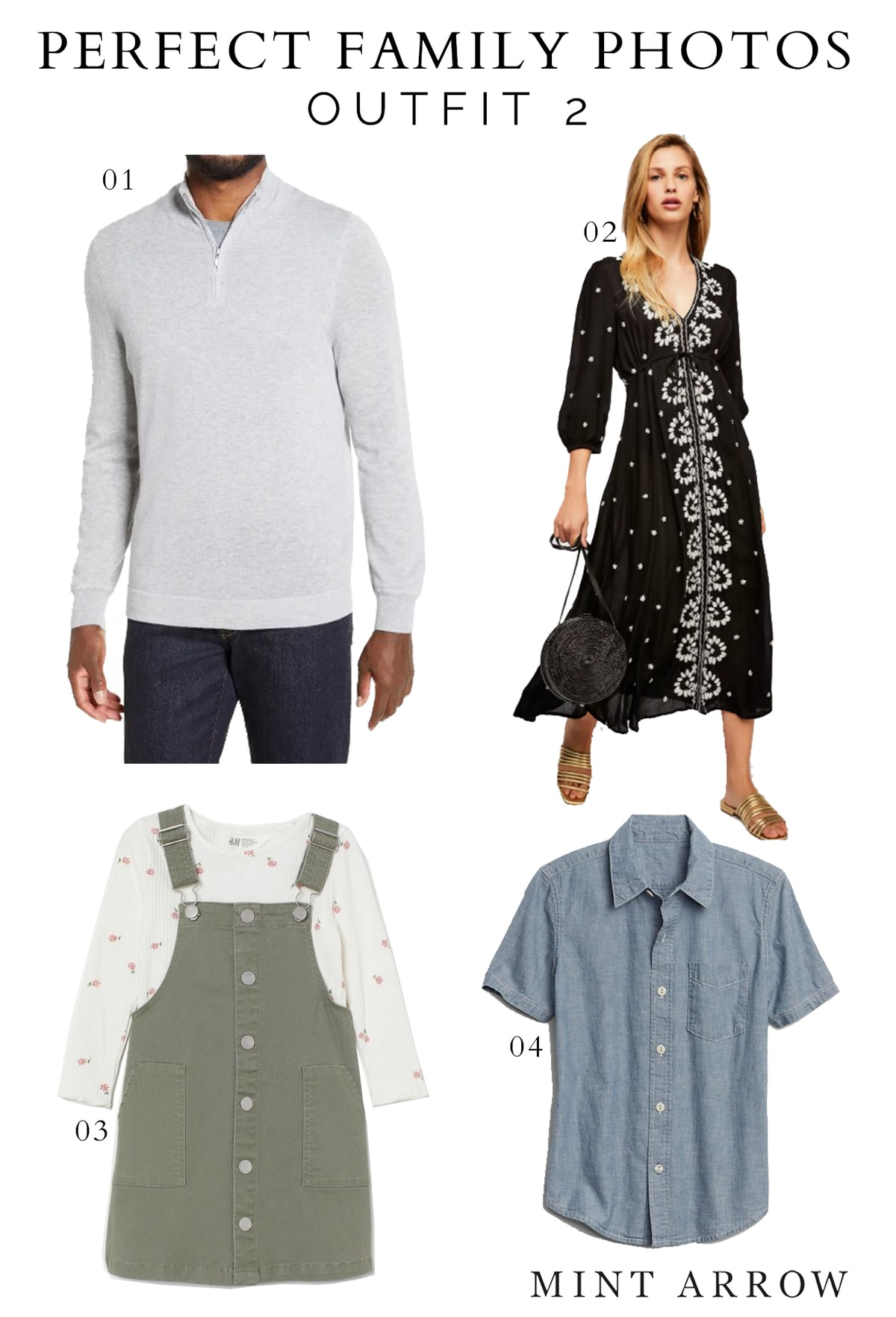 what to wear to family photos