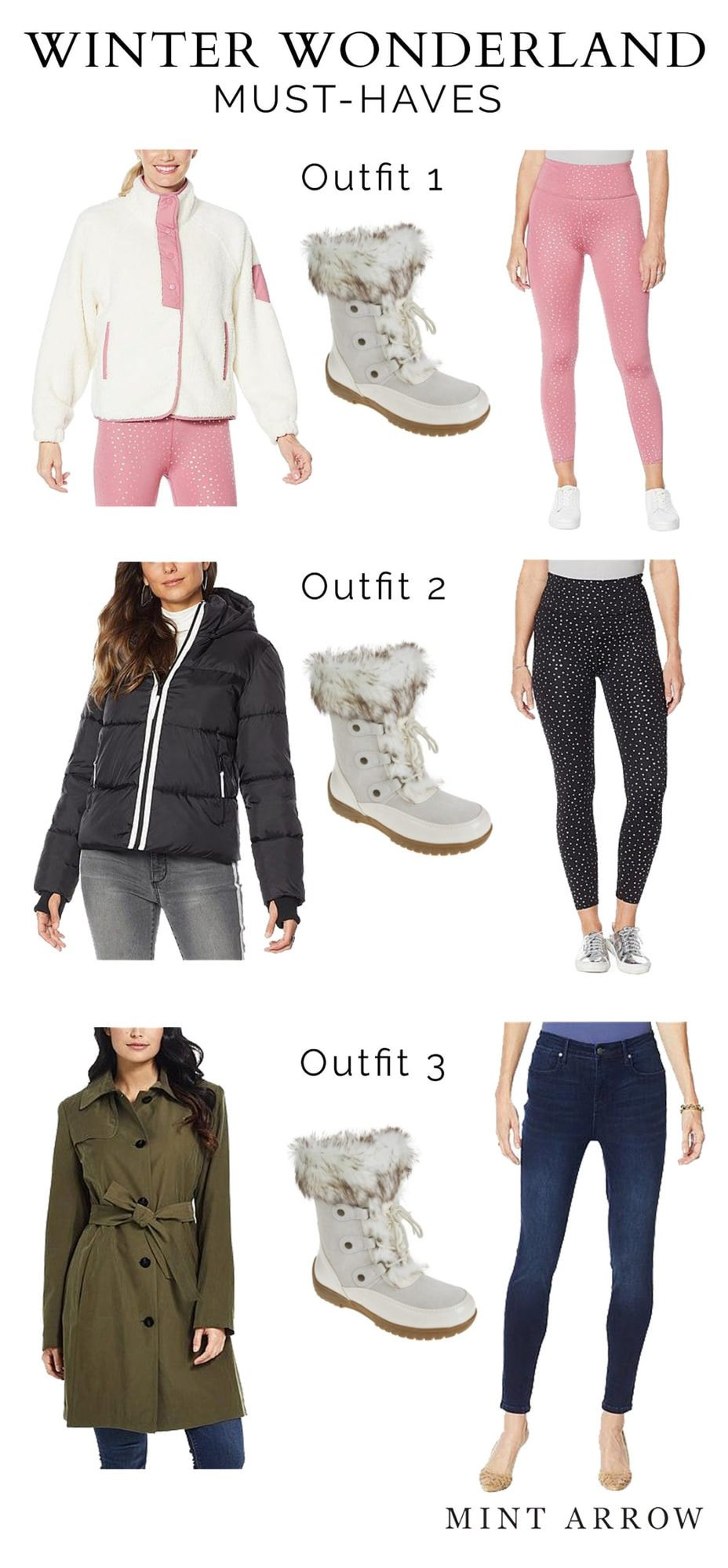 sporto winter boots outfit ideas HSN