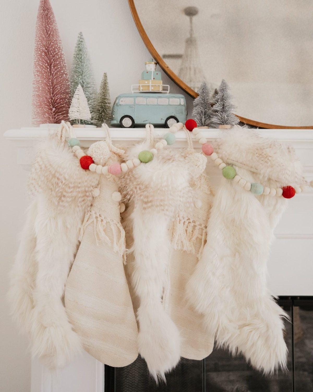 anthropologie christmas stockings