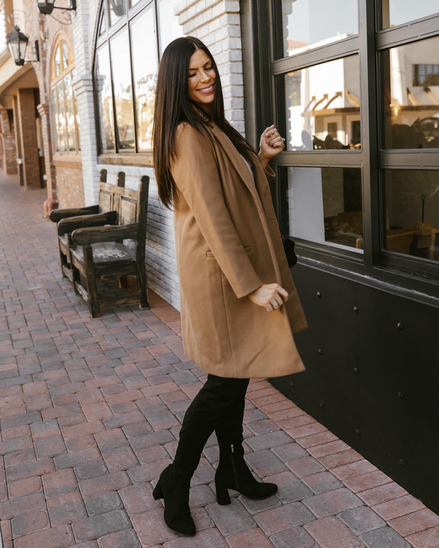 womens affordable winter coat peacoat