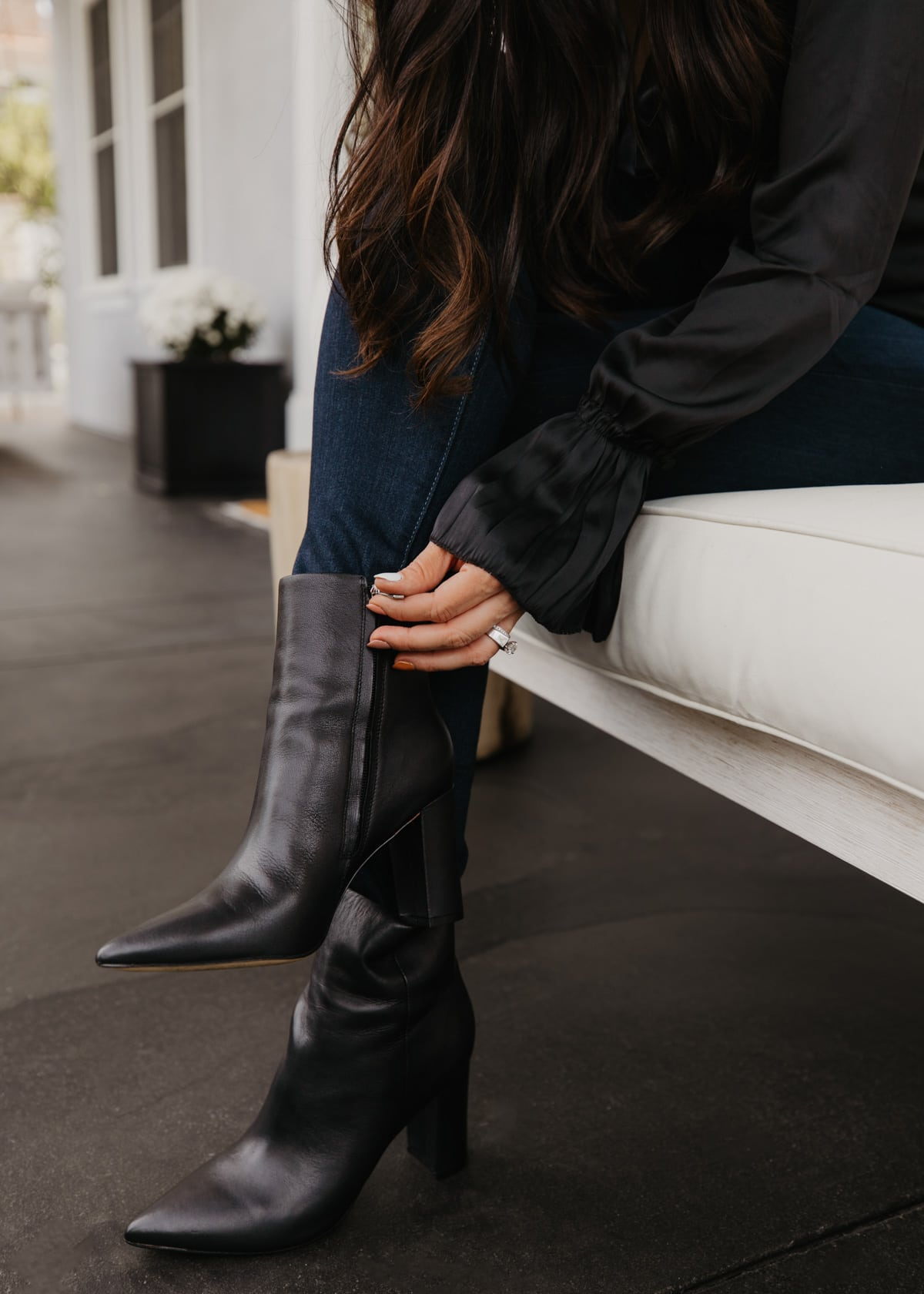 marc fisher black boots nordstrom