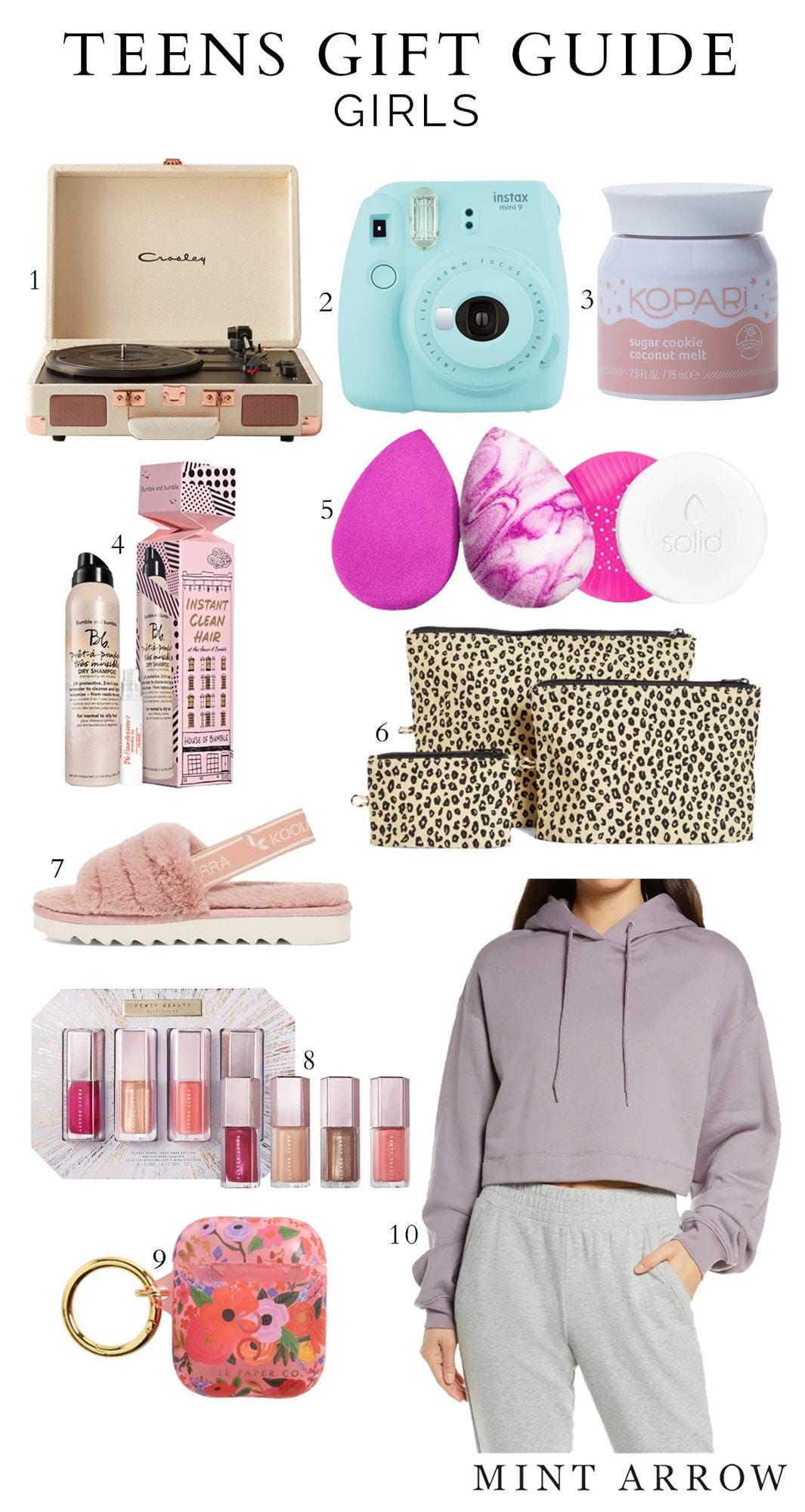 teens gift guide for girls