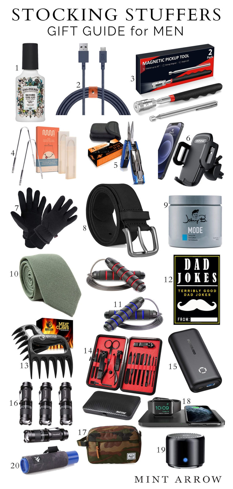 best stocking stuffers for men and women that ship in time for Christmas