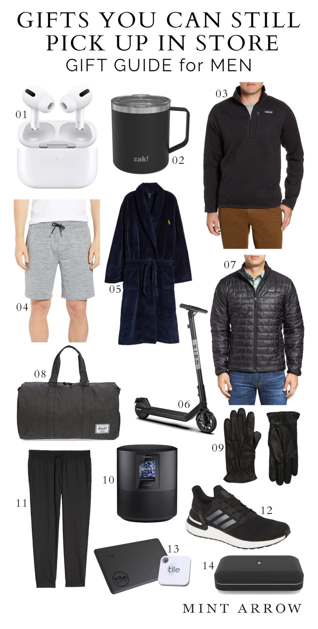 men's gift guide last minute gifts