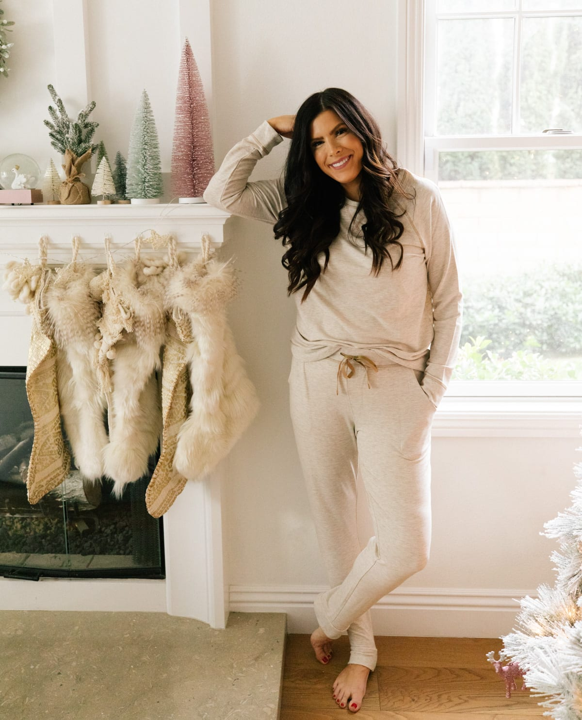 qvc holiday favorites ugg pajama set
