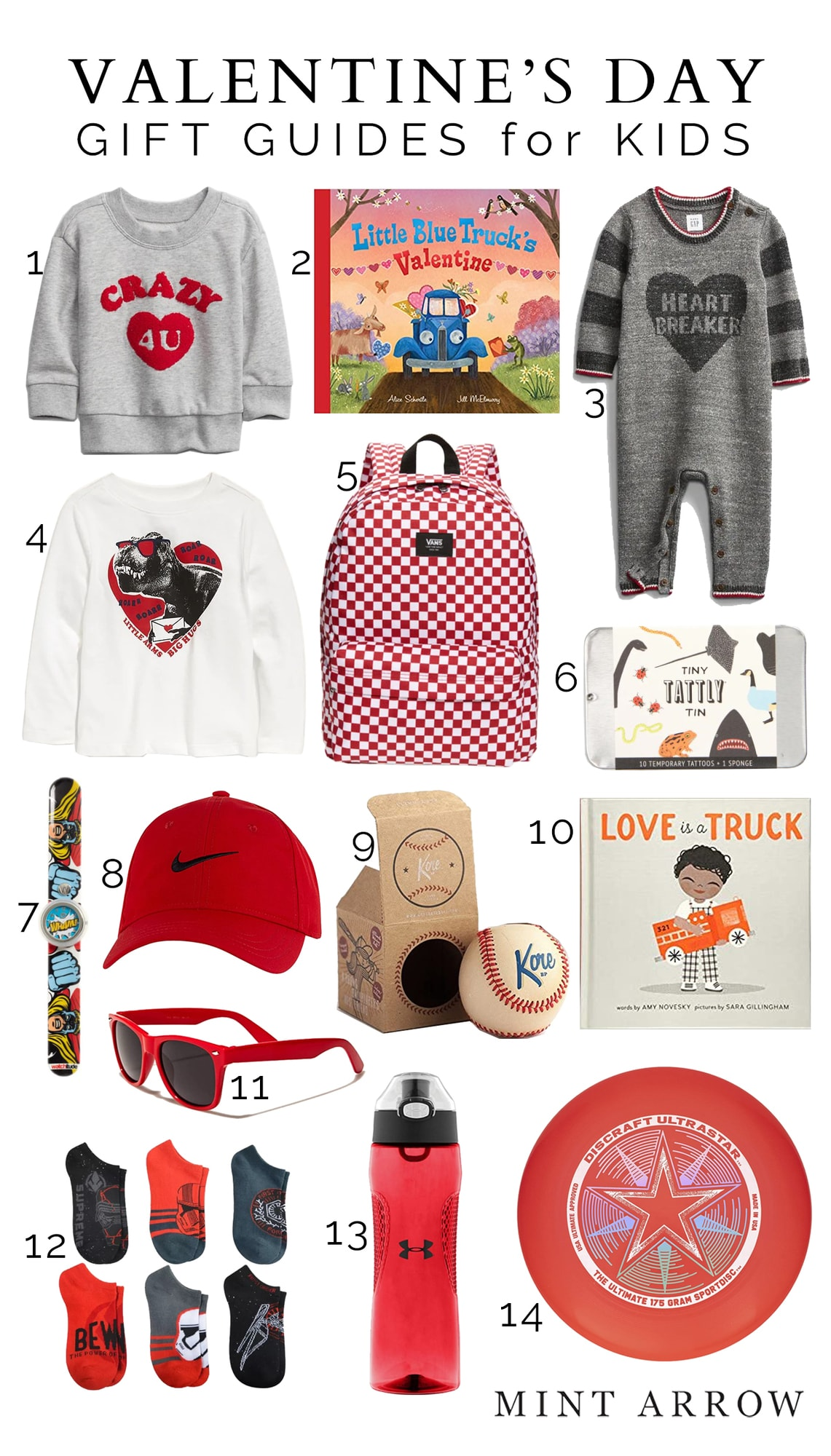 valentine's day gifts for kids girls and boys