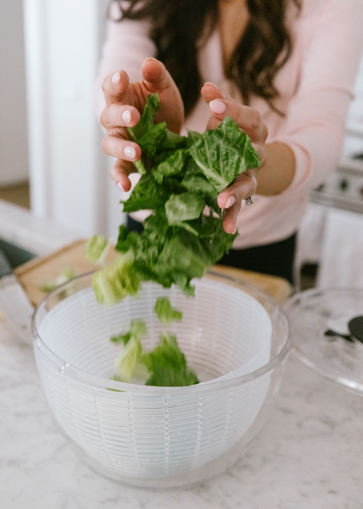 salad spinner healthy eating tools