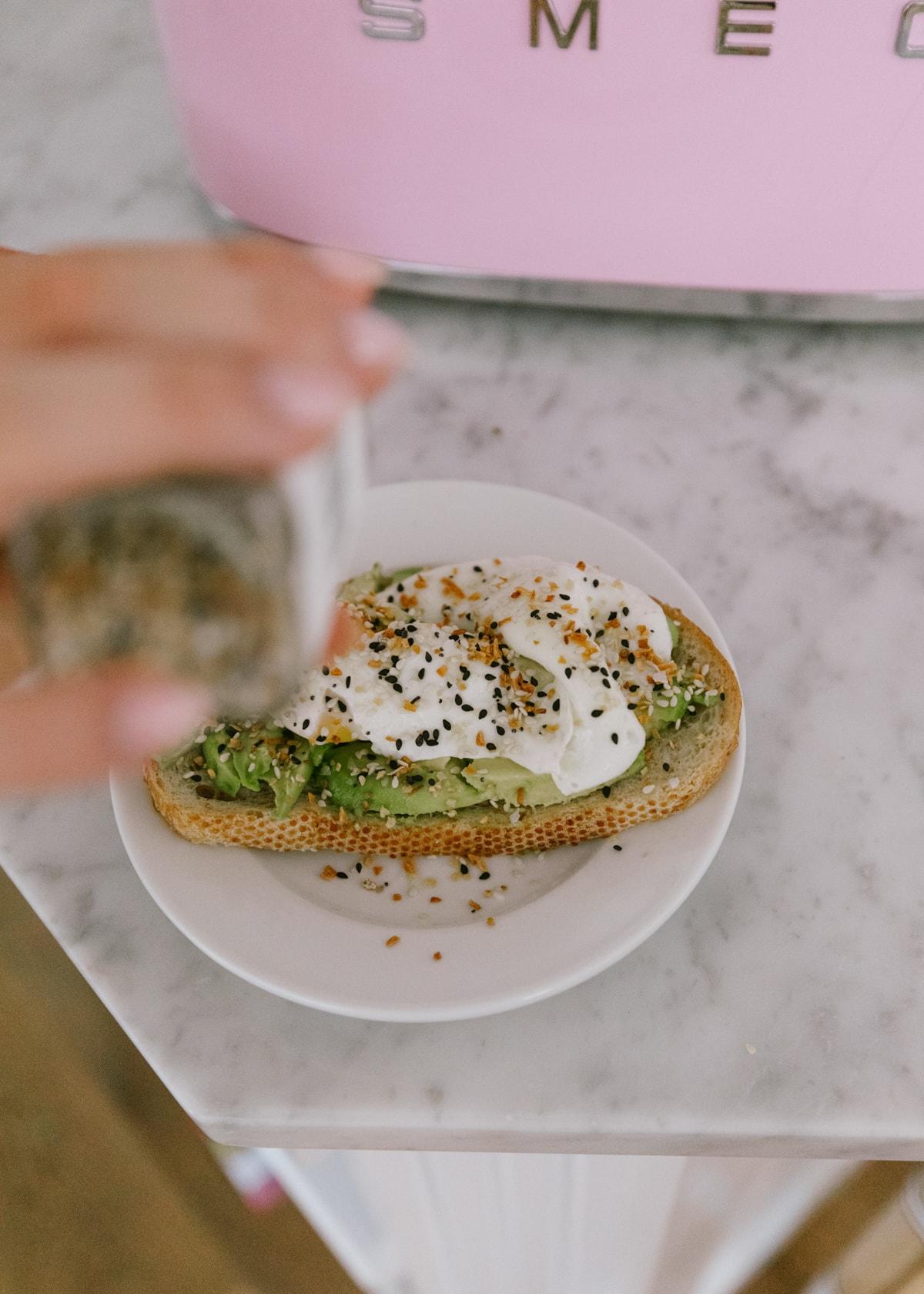 smeg toaster healthy avocado toast