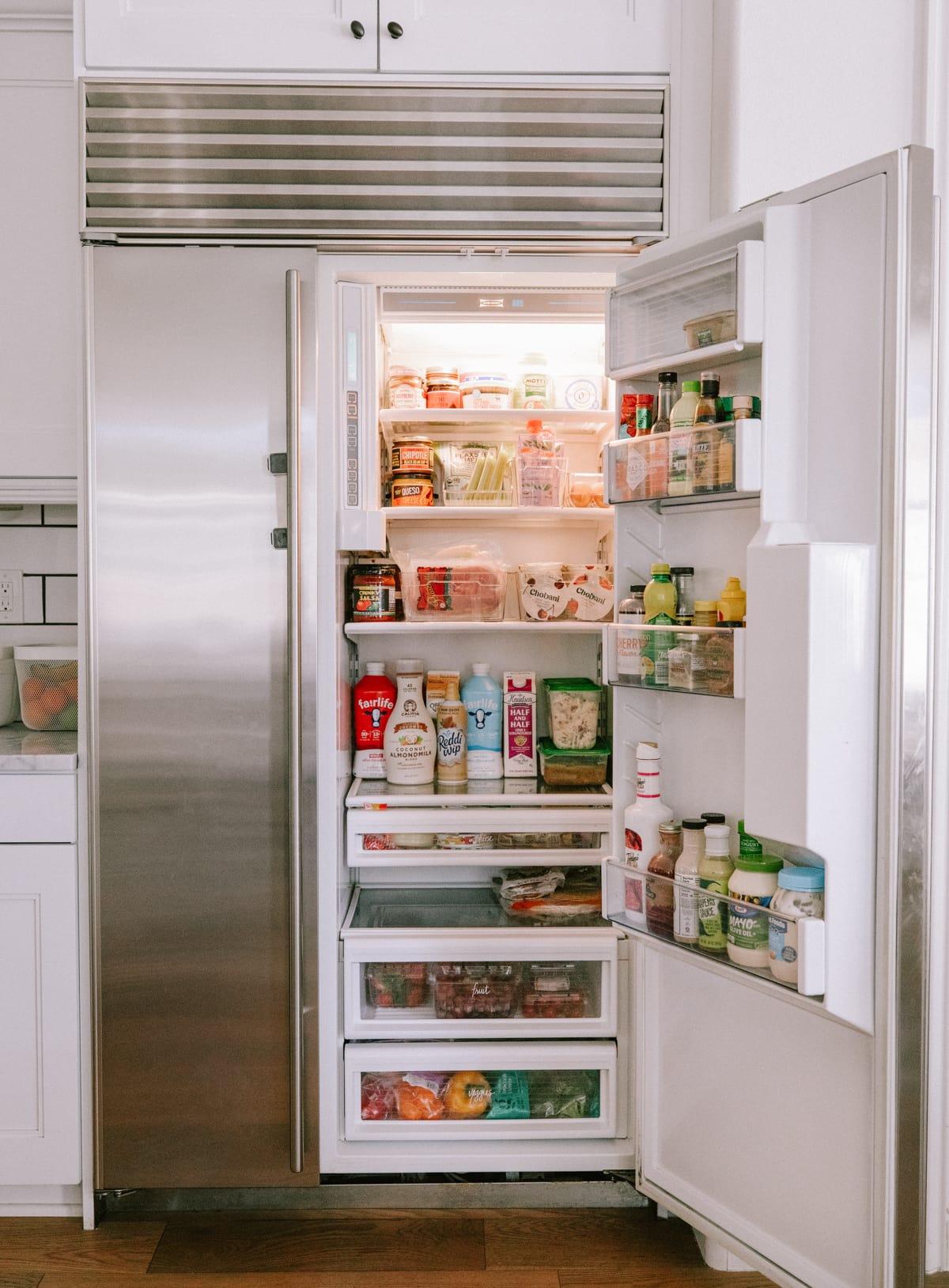 fridge storage bins